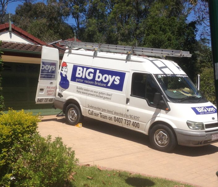 Big Boys Gutter Vacuum Brisbane